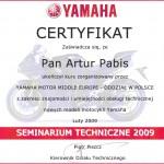 Certyfikat Yamaha Katowice